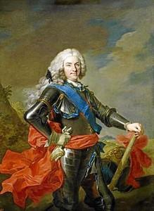 Retrato de Felipe V.