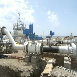 Gasoducto entre Argelia y España.