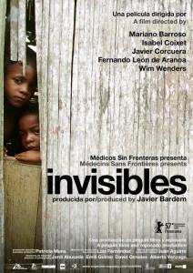 Cartel del documental 'Invisibles'.