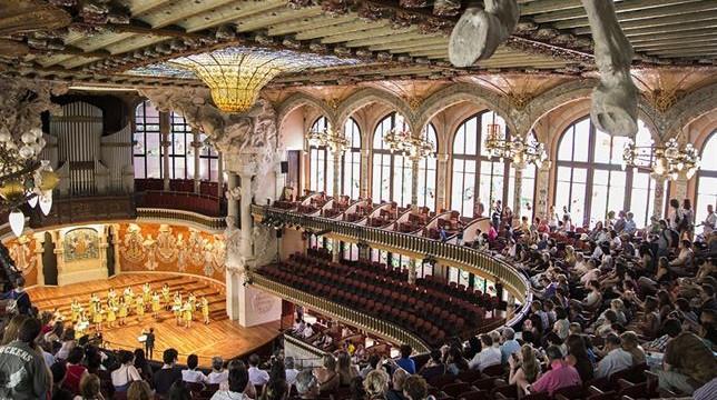 5.500 personas visitan el Palau de la Música en la jornada de puertas abiertas