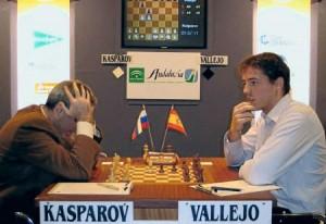 Vallejo contra Kasparov.