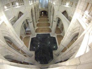El templo ha sido fruto de grandes reformas. / Foto: www.catedralvitoria.com