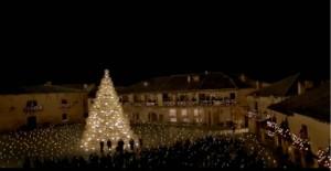 El anuncio de la Lotería de Navidad 2013 se rodó en Pedraza.