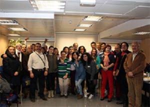Foto de familia de la asamblea del 25 aniversario de la asociación.