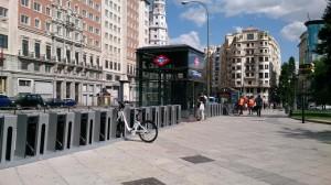 Servicio de alquiler público de bicicletas en Madrid