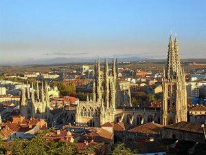 La ciudad de Burgos.