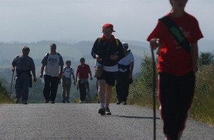 La Ruta Xacobea registró peregrinos procedentes de 157 países el año pasado.