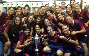 Celebración del FC Barcelona.