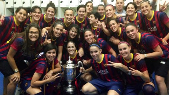 El FC Barcelona conquista la Copa de la Reina