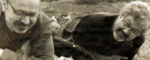 José Miguel con su hermano y socio Ibrahín.