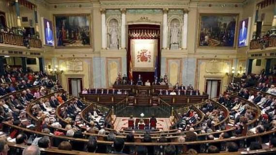 El Congreso abre la puerta a la proclamación de Felipe VI con un apoyo del 85% de la Cámara