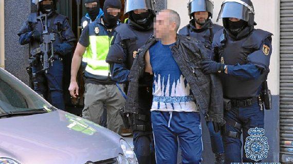 Nueve detenidos en Madrid en una operación contra una red que enviaba yihadistas a Irak y Siria