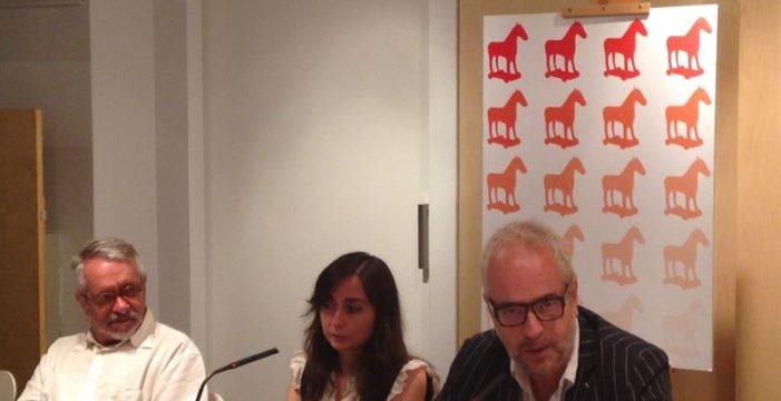 La escritora Elvira Navarro será editora durante un año del nuevo proyecto de Caballo de Troya