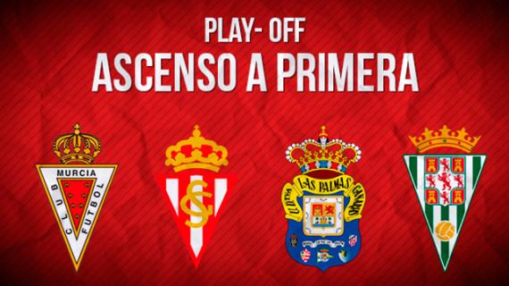 Córdoba, Murcia, Las Palmas y el Sporting tendrán la oportunidad de ascender a Primera División