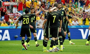 La Roja ganó a Australia en su despedida del Mundial de Brasil. / Foto: www.sefutbol.com