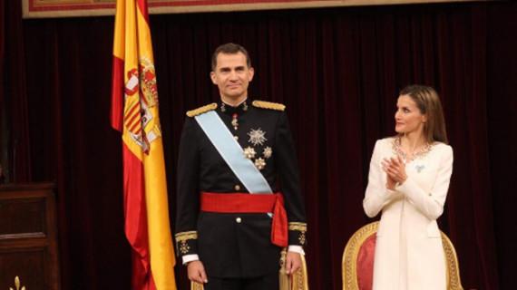 Y el príncipe se convirtió en el Rey Felipe VI