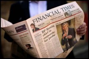 Periódico Financial Times.