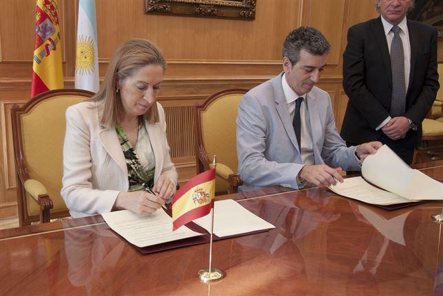 Ana Pastor y Florencio Randazzo