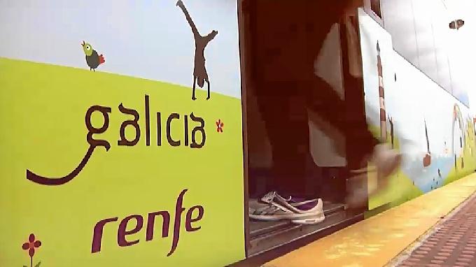 Rutas turísticas en tren por Galicia.