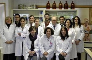 El equipo de la Universidad de Granada que ha llevado a cabo la investigación.