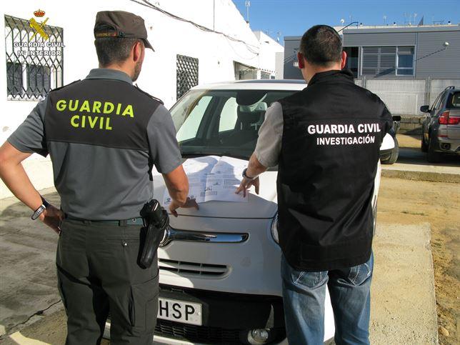 Desarticulada una banda dedicada a sustraer DNI en Sevilla y Huelva para ser usados con fines ilícitos