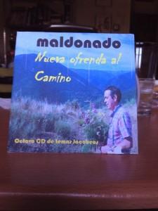 Uno de los ocho discos sobre el Camino que ha grabado el sevillano.