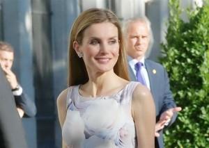 La reina Letizia.