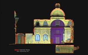 Mapa del convento de las Trinitarias. / Foto: Falcon Higt Tech
