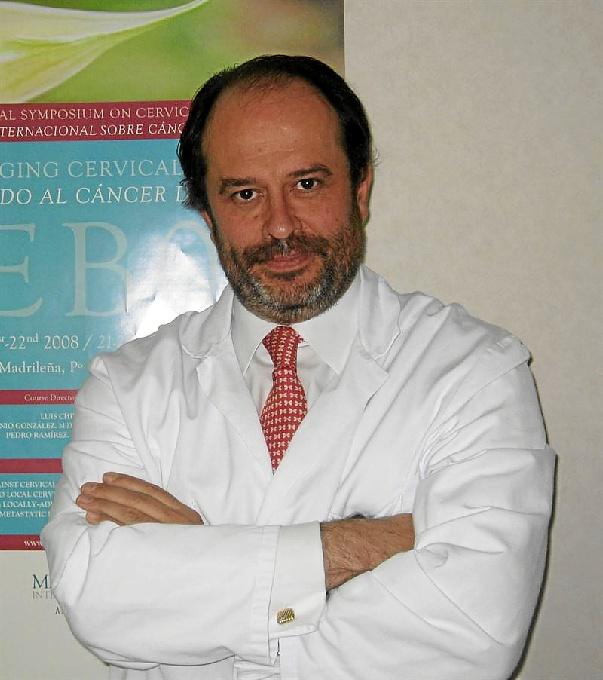 El doctor Luis Chivas. / Foto: MD Anderson.