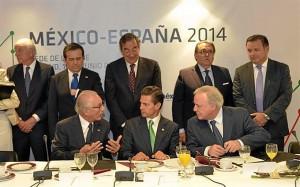 El presidente de México ha sido testigo del acuerdo. / Foto: CNC / Alfonso Esteban