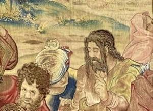 Una escena de las que pueden admirarse en el tapiz.