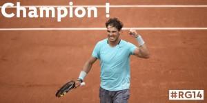 Nadal tras la victoria. / Foto: Roland Garros