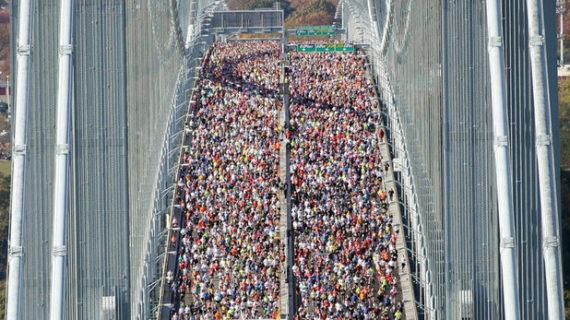 El Maratón de Nueva York, Premio Príncipe de Asturias de los Deportes de 2014