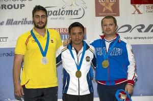 Carrera conquistó la medalla de plata.
