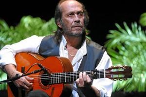 El desaparecido cantaor Paco de Lucía.