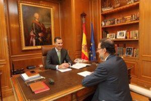 Un momento de la reunión. / Foto: @CasaReal.
