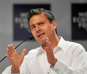 El presidente de México, Enrique Peña. / Foto: Wikipedia.