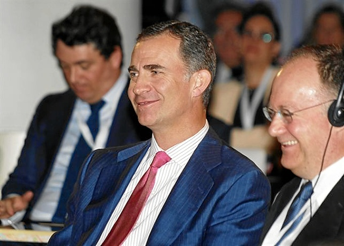 El Príncipe de Asturias, futuro Felipe VI.