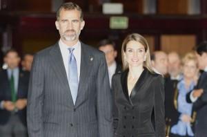 Los Príncipes de Asturias participarán en el almuerzo organizado con motivo de la visita.