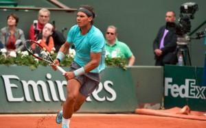 Nadal venció a Ferrer en cuatro sets. / Foto: @rolandgarros