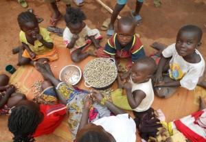 Ayuda a la República Centroafricana.