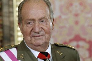 Don Juan ha estado muy animado durante la recepción en el Palacio Real.