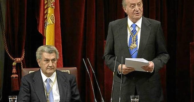 """El Rey cree que el """"ejemplo"""" de los parlamentarios constituyentes debe ser la """"inspiración"""" de los políticos actuales"""