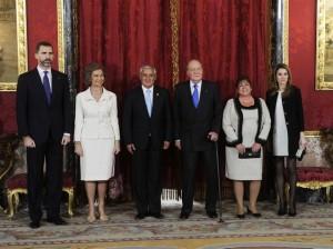 Don Juan Carlos hará de anfitrión por última vez.