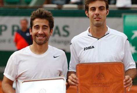 Excelente actuación de Marcel Granollers, Marc López y Jaume Antoni Munar en el Grand Slam de París