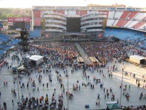 El grupo actúa este 25 de junio en el Estadio Santiago Bernabéu de Madrid.