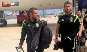 Los jugadores llegaron el 24 de junio a Madrid. / Foto: www.sefutbol.com