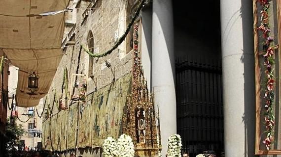 Lleno en Toledo para presenciar el Corpus Christi