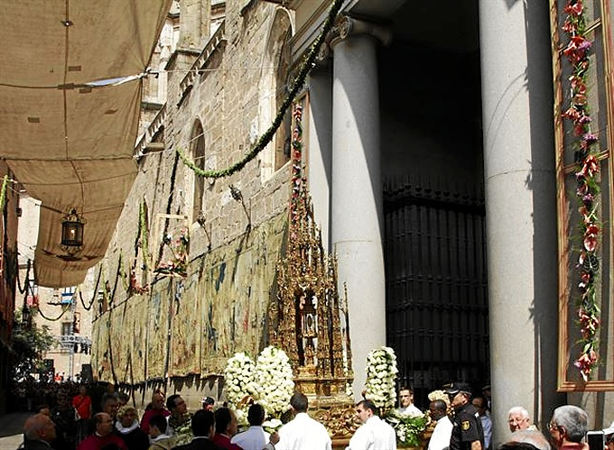 Procesión del Corpus en Toledo.