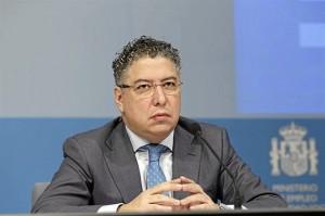 El secretario de Estado, Tomás Burgos.